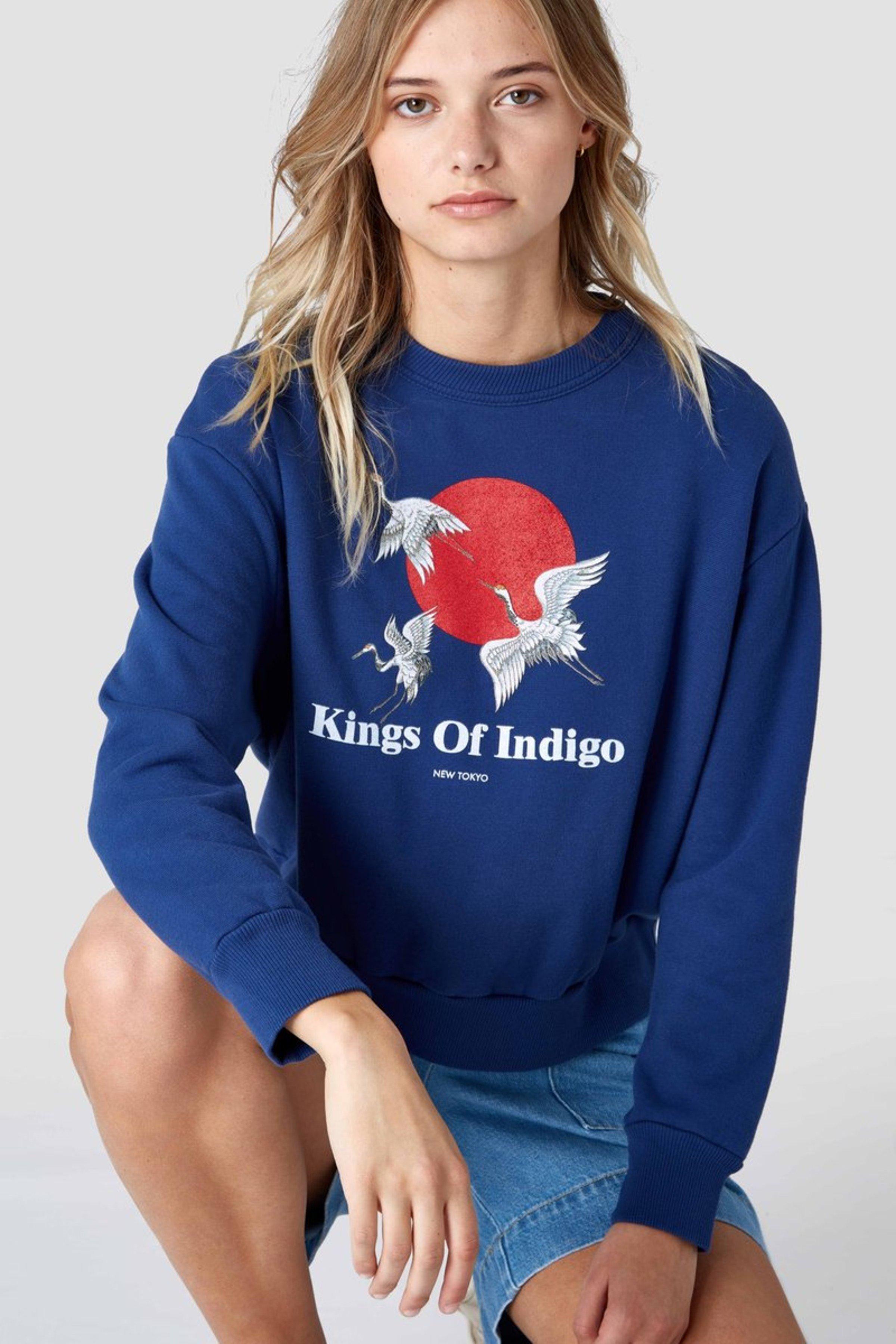 Pullover Idalika Blau
