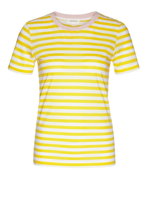 T-Shirt Lidaa Bold Stripes Weiss