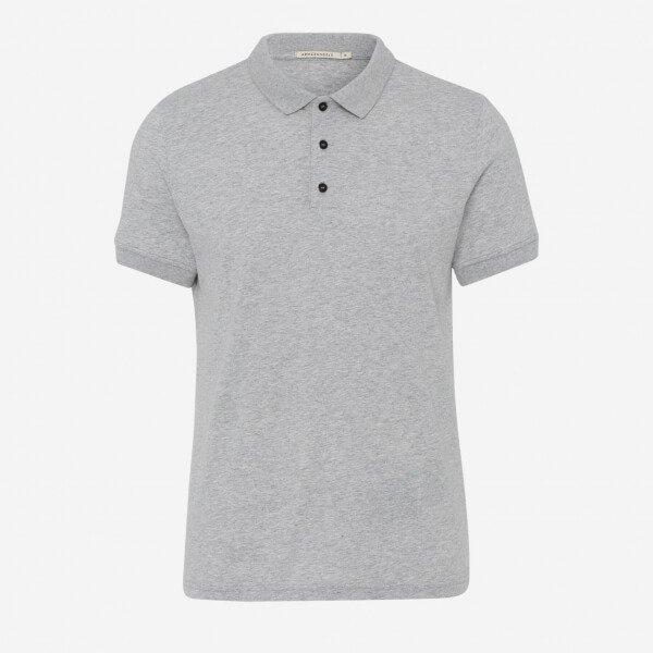 Poloshirt Fabi Grey Melange