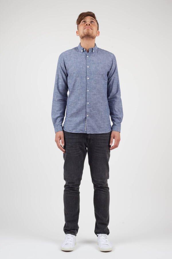 KnowledgeCottonApparel-Cotton Linen Shirt