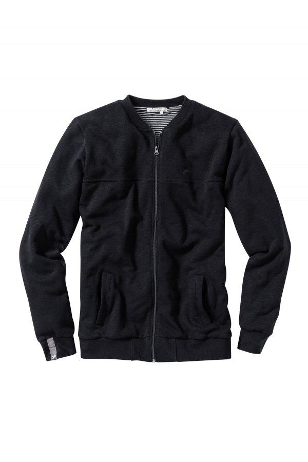 recolution-college-zip-double-layer-black